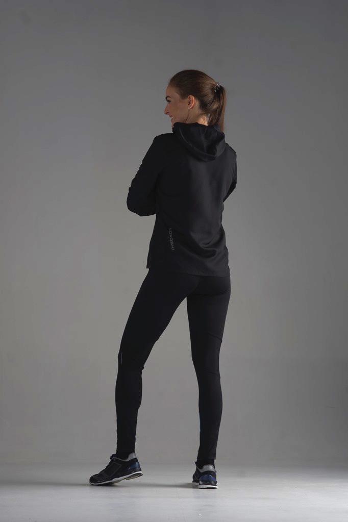 Nordski Jr Run куртка для бега детская Black/Orange - 6