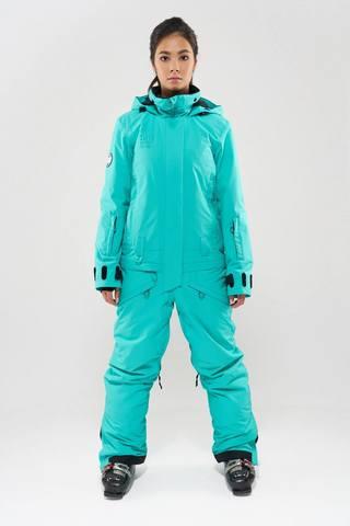 COOL ZONE Twin one Colour сноубордический комбинезон женский мятный
