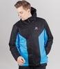 Теплая прогулочная куртка мужская Nordski Base black-blue - 1