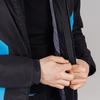 Теплая прогулочная куртка мужская Nordski Base black-blue - 4