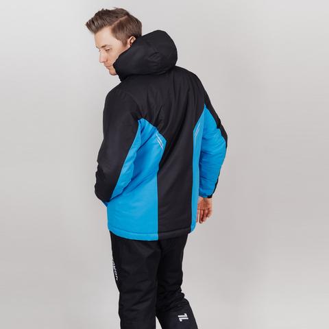 Теплая прогулочная куртка мужская Nordski Base black-blue