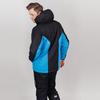 Теплая прогулочная куртка мужская Nordski Base black-blue - 2