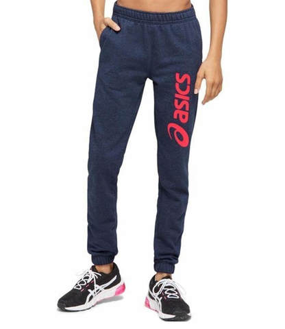 Asics Big Logo Sweat Pant спортивные брюки женские темно-синие