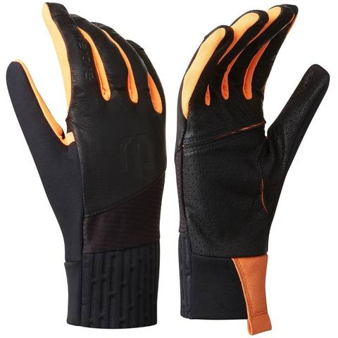 Bjorn Daehlie Glove Raw 2.0 перчатки лыжные черные-оранжевые