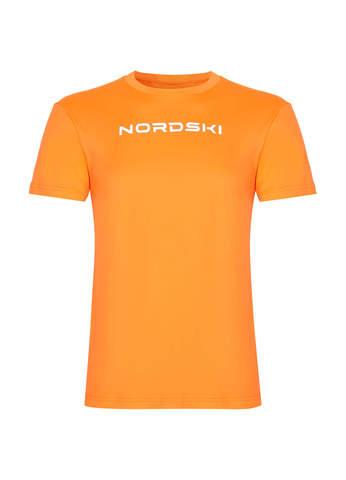 Nordski Jr Logo футболка детская orange