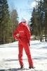 Nordski Kids Россия детский прогулочный костюм Red - 4