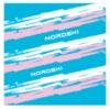 Nordski Stripe многофункциональный баф синий-розовый - 3