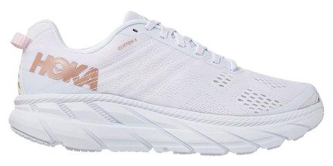 Hoka One One Clifton 6 кроссовки для бега женские белые