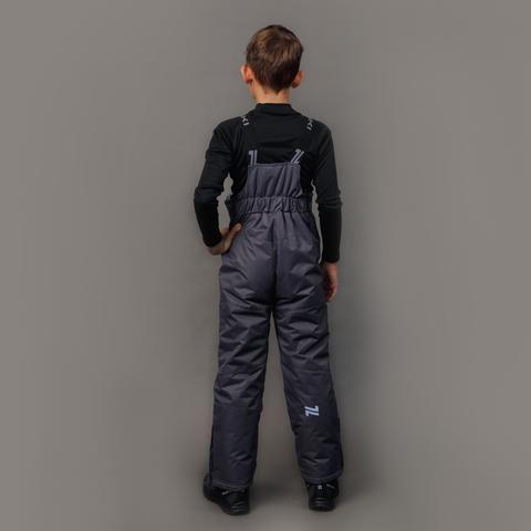 Nordski Kids теплые лыжные брюки детские grey