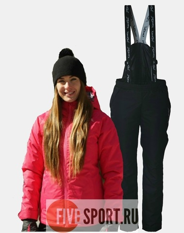Nordski Motion Active прогулочный костюм женский Raspberry-Black