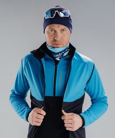 Nordski Premium лыжный жилет мужской light blue