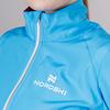 Nordski Premium женская ветровка для бега голубая - 4