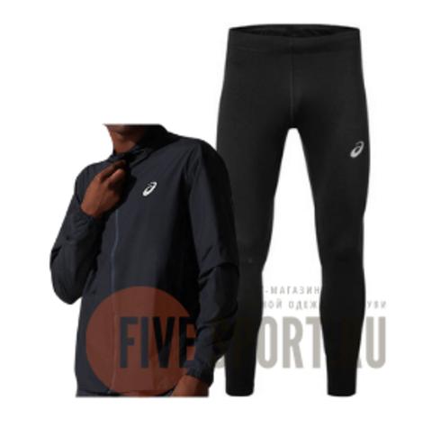 Asics Core костюм для бега мужской черный