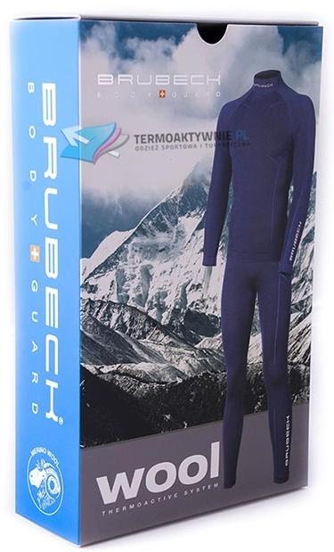 Brubeck Wool Merino мужской комплект термобелья черный - 5