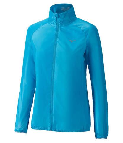 Mizuno Impulse Impermalite куртка для бега женская голубая