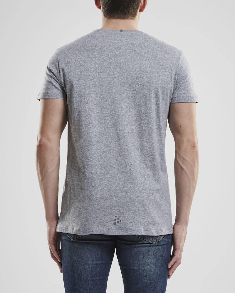 Craft Deft 2.0 футболка мужская grey - 3