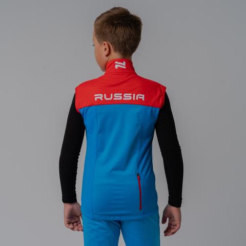 Nordski Jr Pro Rus лыжный жилет детский