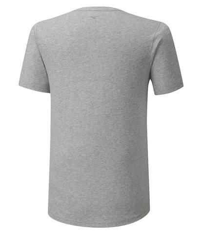 Mizuno Runbird Tee беговая футболка мужская серая