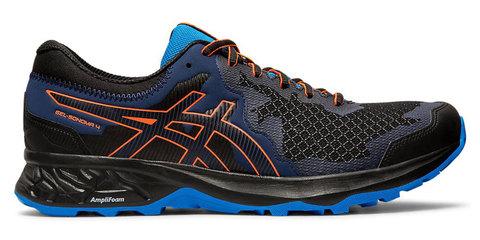 Asics Gel Sonoma 4 кроссовки для бега мужские синие-черные