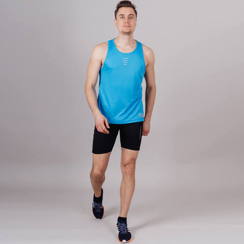 Nordski Run Premium комплект беговой мужской blue