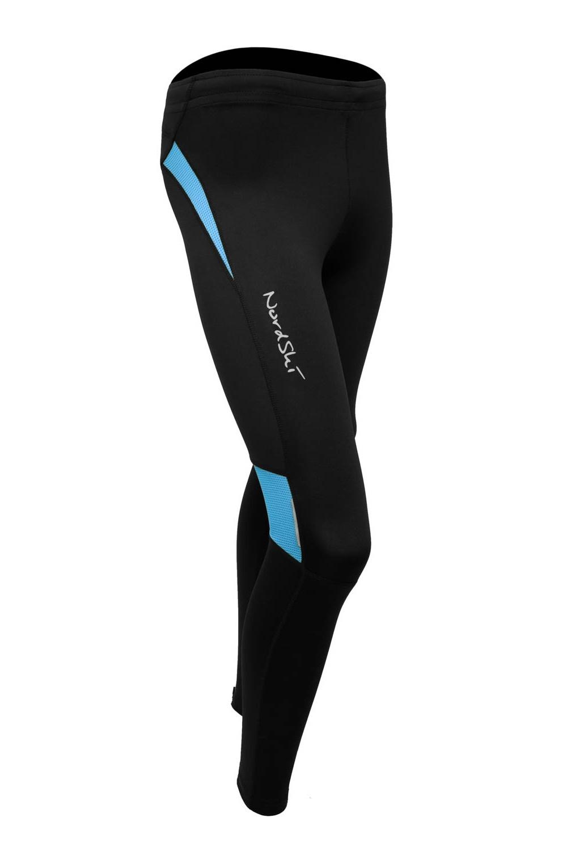Nordski Premium лосины женские Black-Aquamarine - 2
