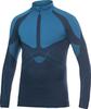 Рубашка Craft Warm Zip мужская темно-синяя - 1