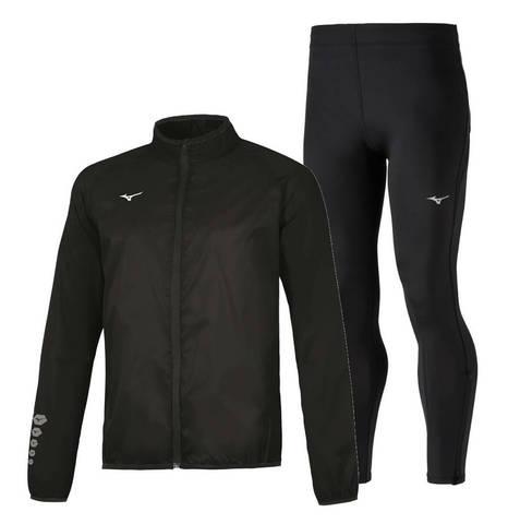 Mizuno Authentic Impulse костюм для бега мужской black