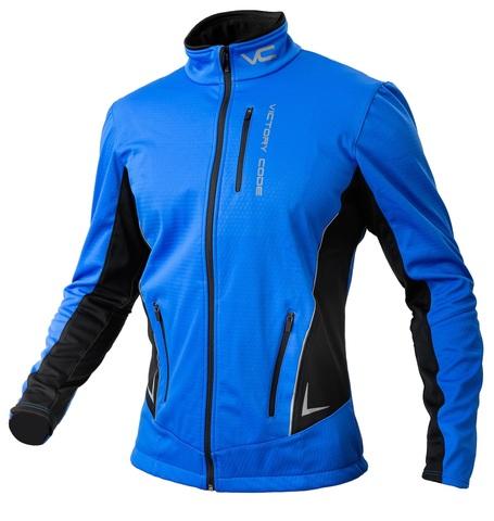Victory Code Speed Up A2 разминочная лыжная куртка blue