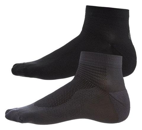 Asics 2ppk Ultra Lightweight Quarter комплект носков черные-серые