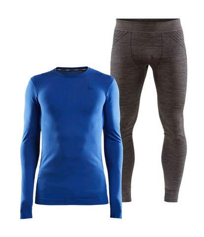 Craft Fuseknit Comfort комплект термобелья мужской blue-grey