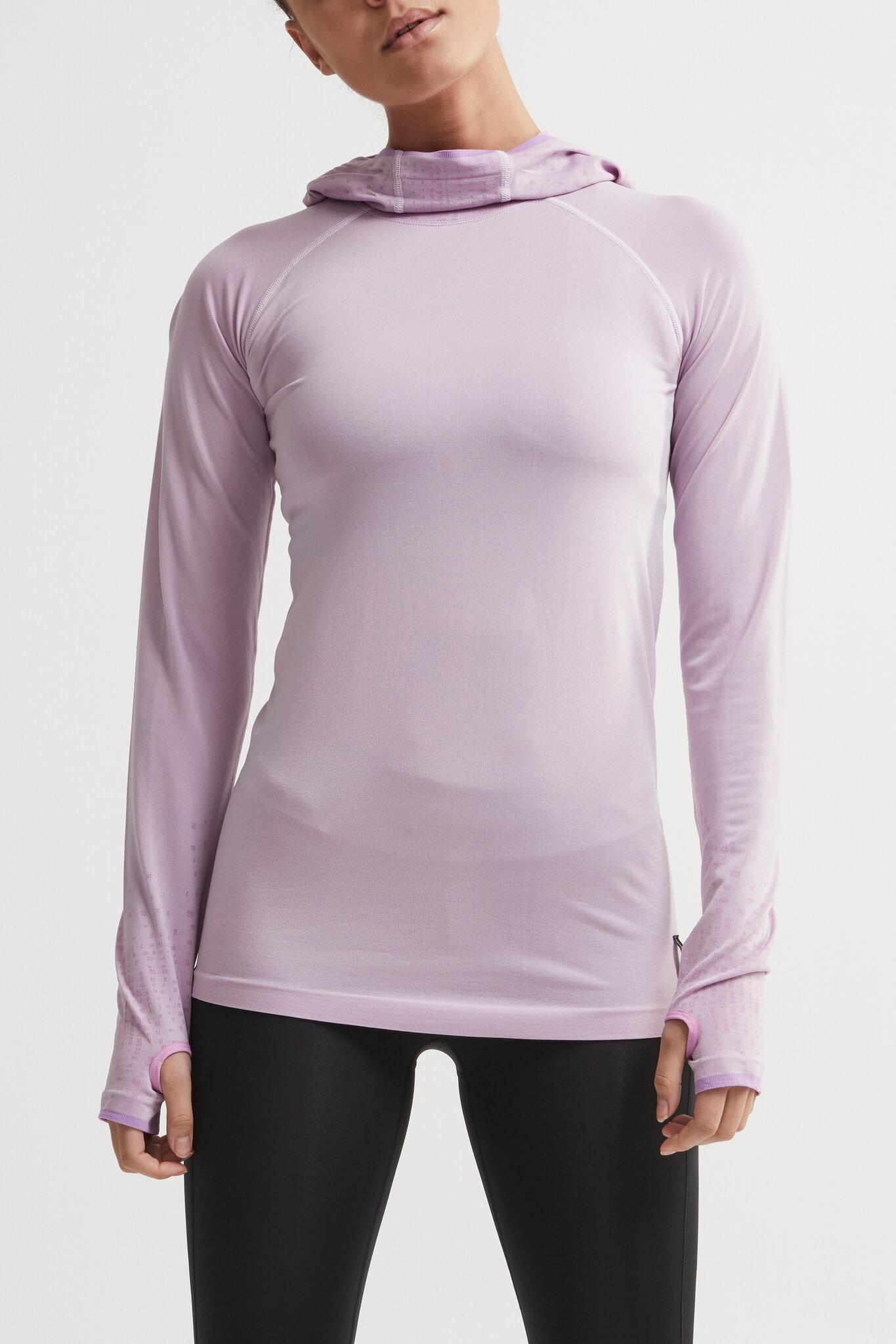 Craft Core Fuseknit рубашка беговая с капюшоном женская - 2