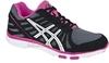 Кроссовки для бега Asics Ayami-Zone женские, черно-розовые - 1