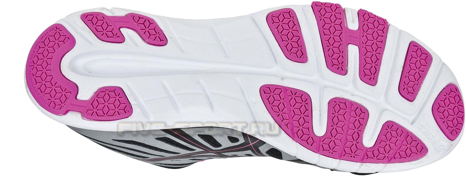 Кроссовки для бега Asics Ayami-Zone женские, черно-розовые - 2