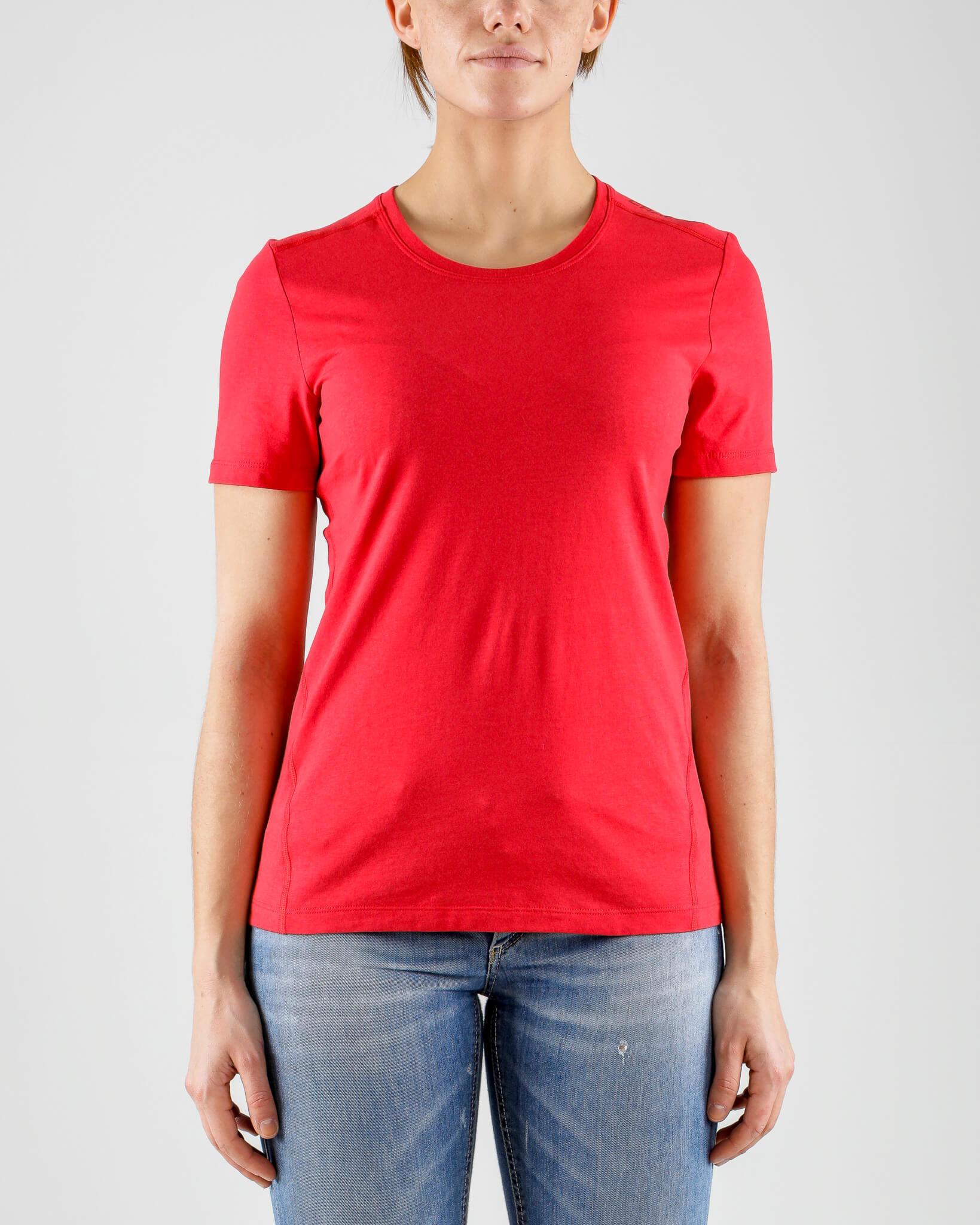 Craft Deft 2.0 футболка женская красная - 2