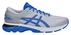 Asics Gel Kayano 25 Lite Show кроссовки для бега мужские белые-синие