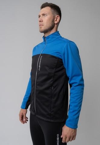 Nordski Active Base мужской беговой лыжный костюм blue-black