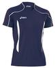 Волейбольная футболка Asics T-shirt Volo мужская Dark Blue - 3