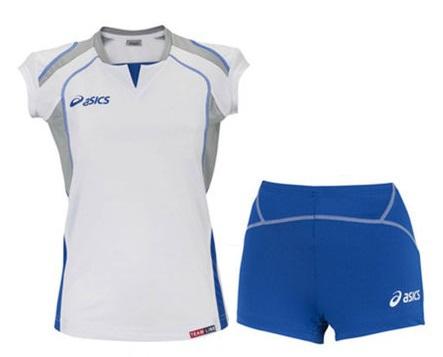 Asics Set Olympic Lady форма волейбольная женская blue - 4