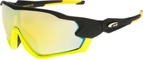 Goggle Sport спортивные солнцезащитные очки black-yellow