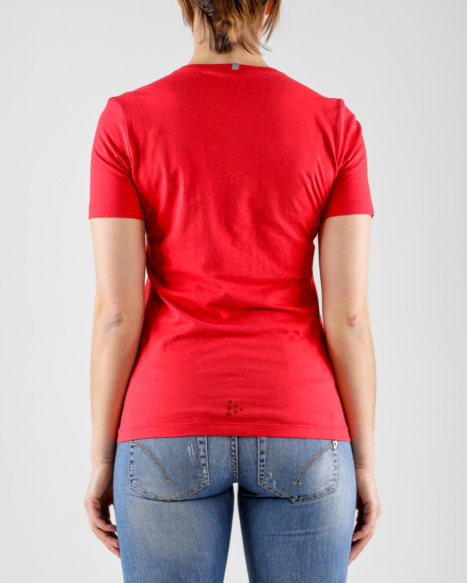 Craft Deft 2.0 футболка женская красная - 4