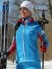 Nordski National Premium разминочный лыжный костюм женский Blue-Black - 2