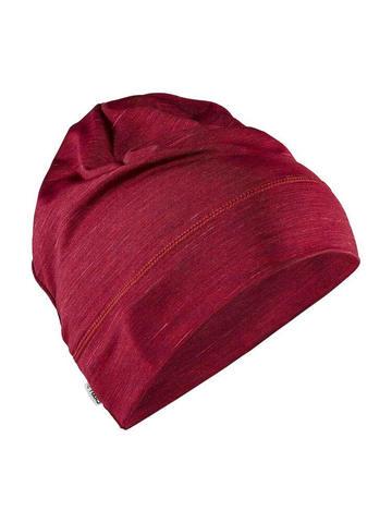Craft Melange Jersey шапка бордо