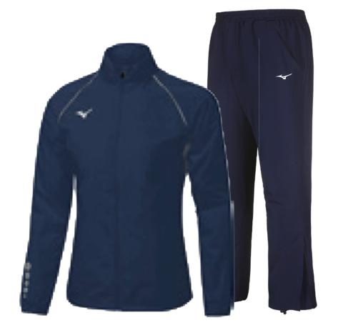 Mizuno Osaka Windbreaker Micro костюм для бега мужской синий