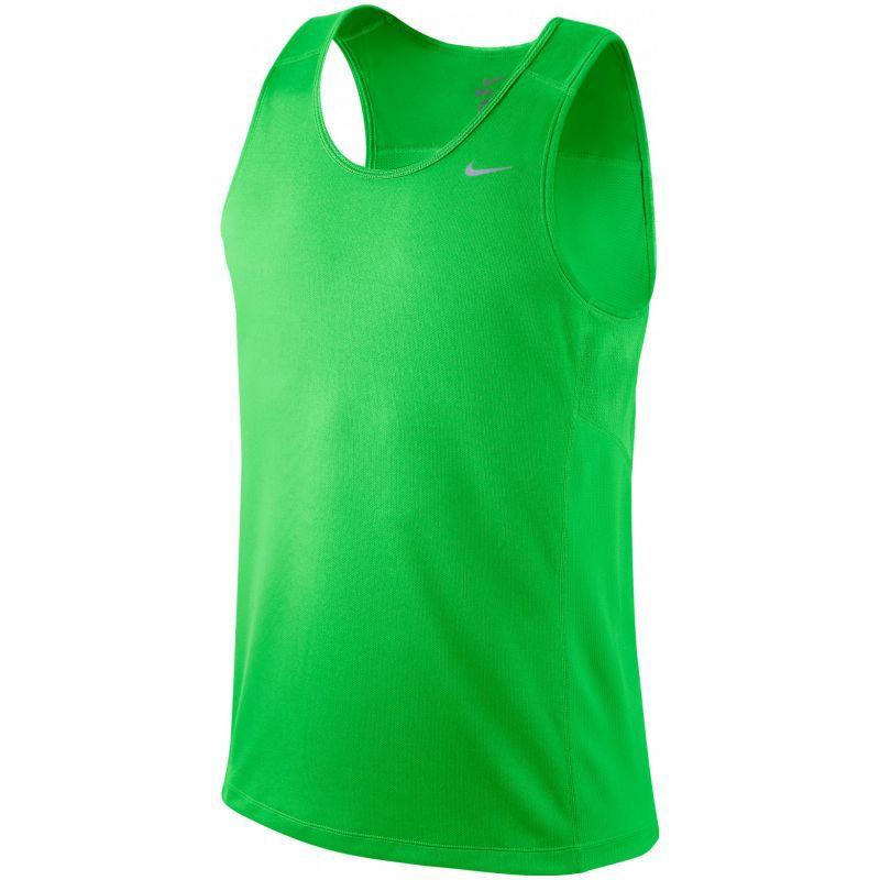 Майка л/а Nike Miler Singlet зелёная