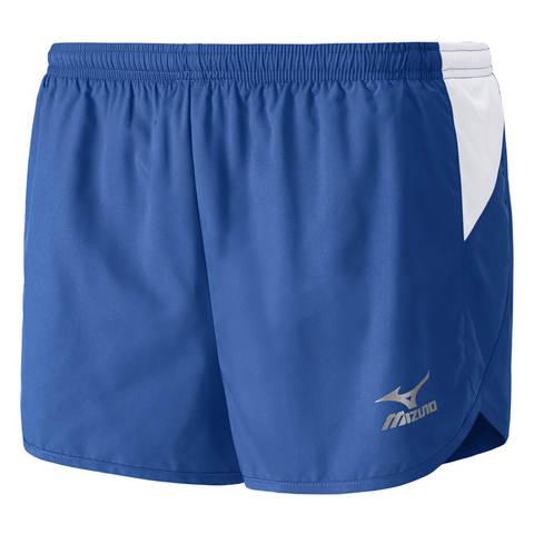 Шорты для бега мужские Mizuno Woven синие