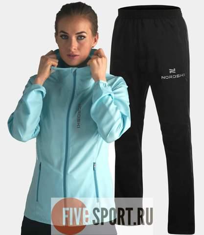 Nordski Run Motion костюм для бега женский Light Breeze