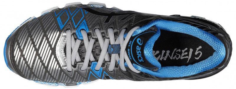 Asics Gel-Kinsei 5 кроссовки для бега мужские серые - 3
