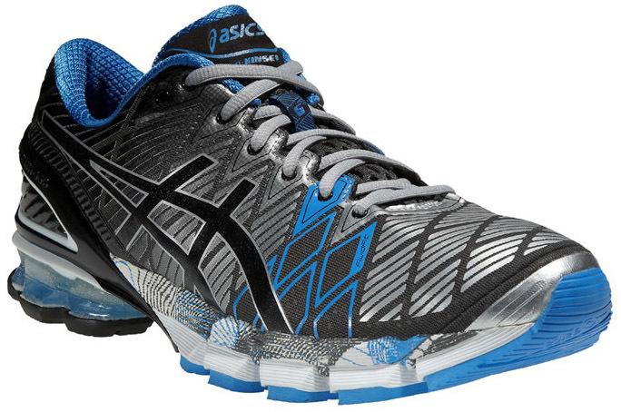 Asics Gel-Kinsei 5 кроссовки для бега мужские серые - 5
