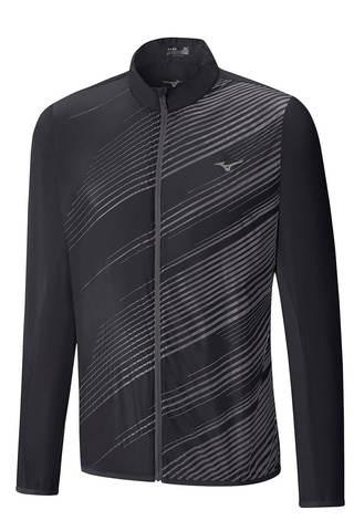 Беговая куртка мужская Mizuno Aero черная