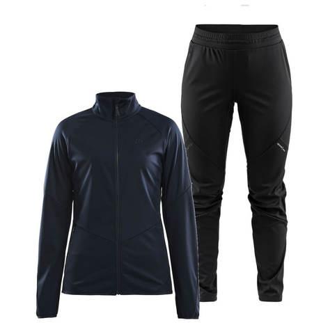 Craft Glide XC лыжный костюм женский синий-черный